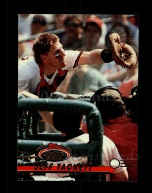 1993 Topps Stadium Club #186  Jeff Tackett
