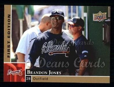 2009 Upper Deck First Edition #14  Brandon Jones