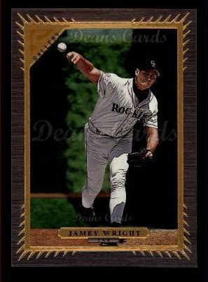1997 Topps Gallery #150  Jamey Wright