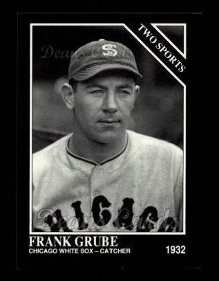 1992 Conlon #399   -  Frank Grube Two Sports