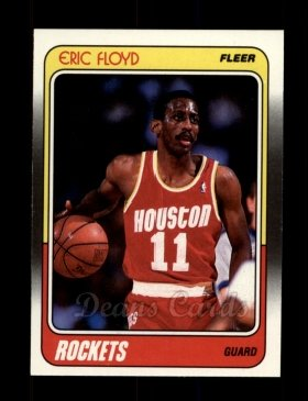 1988 Fleer #51  Sleepy Floyd
