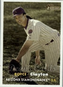 2006 Topps Heritage #421  Royce Clayton