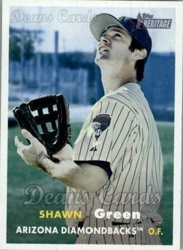 2006 Topps Heritage #130  Shawn Green