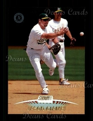 1999 Topps Stadium Club #242  Jason Giambi