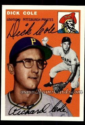 1994 Topps 1954 Archives #84  Dick Cole