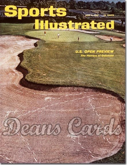 1962 Sports Illustrated - With Label   June 11  -  U.S. Open Preview