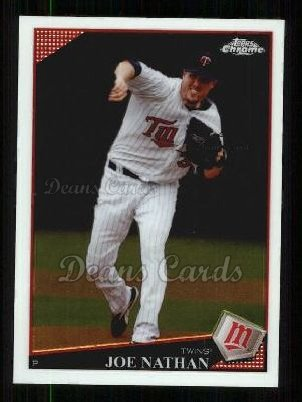 2009 Topps Chrome #124  Joe Nathan