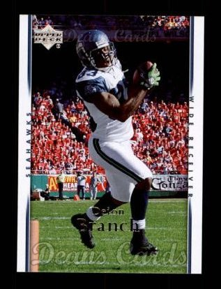 2007 Upper Deck #172  Deion Branch