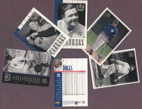 2000 Upper Deck Yankee Legends Complete Set