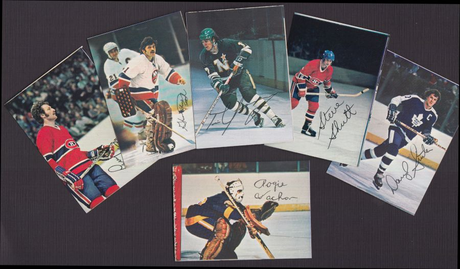 1977 Topps Glossy Inserts   -78 Topps O-Pee-Chee Hockey Glossy Square Inserts