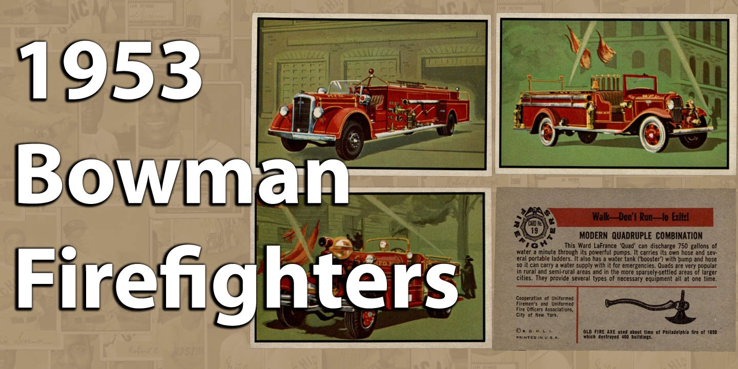 1953 Bowman Firefighters