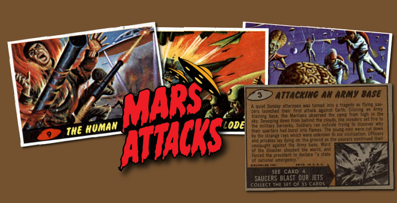 1962 Topps / Bubbles Inc Mars Attacks