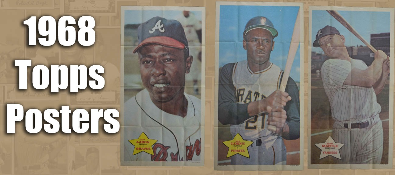 1968 Topps Posters