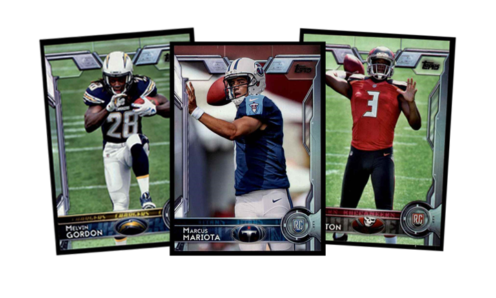 2015 Topps Football Cards