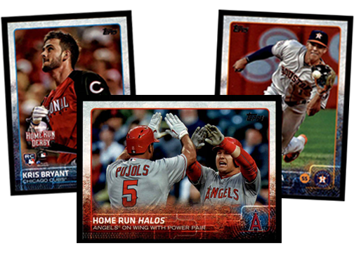 2015 Topps Update Baseball Cards