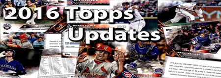 2016 Topps Update Baseball Cards