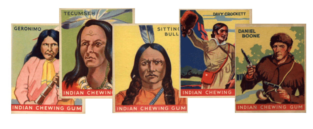1933 Goudey Indian Gum