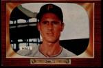 1955 Bowman #113  Bob Hall  Front Thumbnail