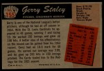 1955 Bowman #155  Gerry Staley  Back Thumbnail