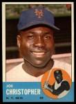 1963 Topps #217  Joe Christopher  Front Thumbnail