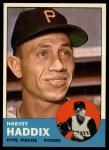 1963 Topps #239  Harvey Haddix  Front Thumbnail