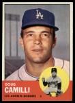 1963 Topps #196  Doug Camilli  Front Thumbnail