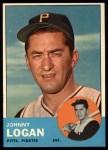 1963 Topps #259  Johnny Logan  Front Thumbnail