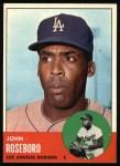 1963 Topps #487  John Roseboro  Front Thumbnail