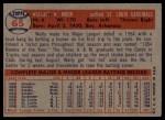 1957 Topps #65  Wally Moon  Back Thumbnail