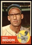 1963 Topps #279  Wally Moon  Front Thumbnail