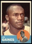 1963 Topps #319  Joe Gaines  Front Thumbnail