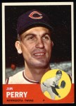 1963 Topps #535  Jim Perry  Front Thumbnail