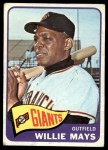 1965 Topps #250  Willie Mays  Front Thumbnail