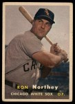 1957 Topps #31  Ron Northey  Front Thumbnail