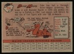 1958 Topps #228  Duke Maas  Back Thumbnail