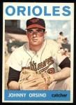 1964 Topps #63  John Orsino  Front Thumbnail
