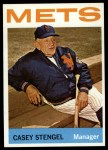 1964 Topps #324  Casey Stengel  Front Thumbnail