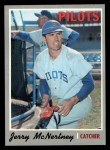 1970 Topps #158  Jerry McNertney  Front Thumbnail