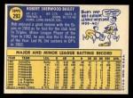 1970 Topps #293  Bob Bailey  Back Thumbnail