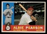 1960 Topps #241  Albie Pearson  Front Thumbnail