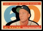 1960 Topps #561   -  Al Kaline All-Star Front Thumbnail