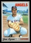 1970 Topps #294  Joe Azcue  Front Thumbnail