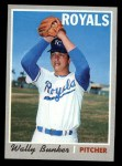 1970 Topps #266  Wally Bunker  Front Thumbnail