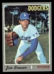 1970 Topps #571  Jim Brewer  Front Thumbnail