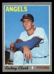 1970 Topps #586  Rickey Clark  Front Thumbnail