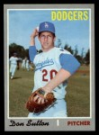 1970 Topps #622  Don Sutton  Front Thumbnail