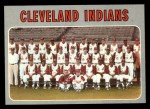 1970 Topps #637   Indians Team Front Thumbnail