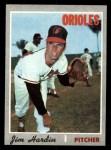 1970 Topps #656  Jim Hardin  Front Thumbnail