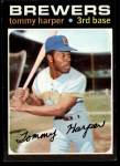 1971 Topps #260  Tommy Harper  Front Thumbnail