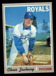 1970 Topps #471  Chris Zachary  Front Thumbnail